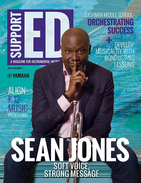 SupportED magazine with Sean Jones on cover