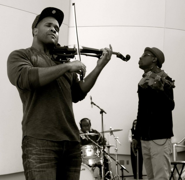 Kev Marcus and Wil B. of Black Violin